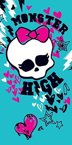 Monster High Skullette serviette - 100% coton