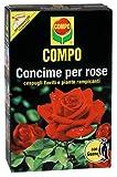 COMPO Concime per Rose, Con Guano, Anche per Cespugli Fioriti e Rampicanti, 3 Kg