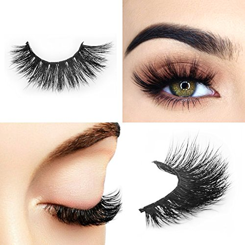 Arison Lashes 3D Fake Eye Lash False Eyelashes Pure Hand-made Natural Look for Makeup (1 Pair)