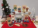 Frostfutter Perleberg Adventskalender für Hunde, jeden Tag EIN Geschenk (5*Hundespielzeug/12*Kausnacks/5*Weihnachtsgourmet/2*Nahrungsergänzungsmittel/1*Kalender2021,1*Tischkalender2021)