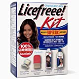 Licefreee Kit All-In-One Complete Lice Killing Treatment, Daily Maintenance Shampoo & Professional Nit Comb In One Box, Set
