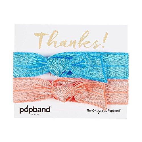 Popband Go Girl - Paquet de 2 Élastiques à Cheveux Popbands