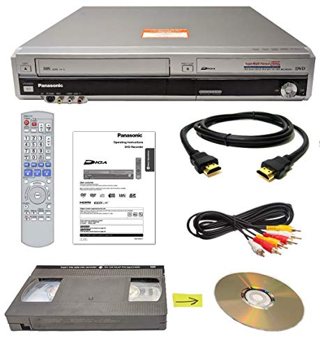 Panasonic VHS to DVD Recorder VCR Combo w/ Remote