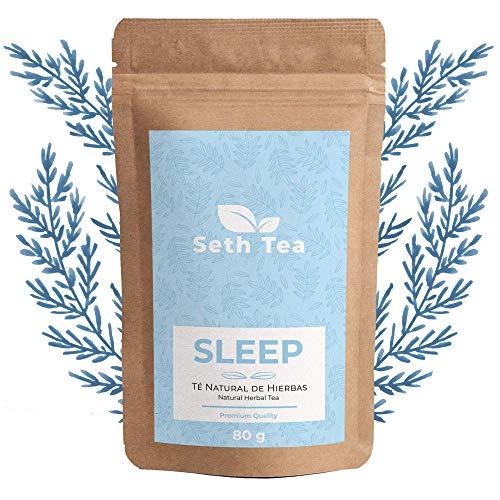 Infusiones Relajantes para Dormir | 80grs(50 Días) | Infusiones para Dormir | Valeriana Infusion | Ingredientes Premium Valeriana, Manzanilla Natural , Ortiga Verde, Melisa…