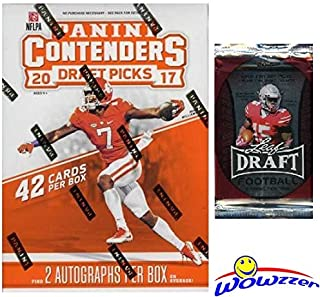 2017 contenders optic football hobby box