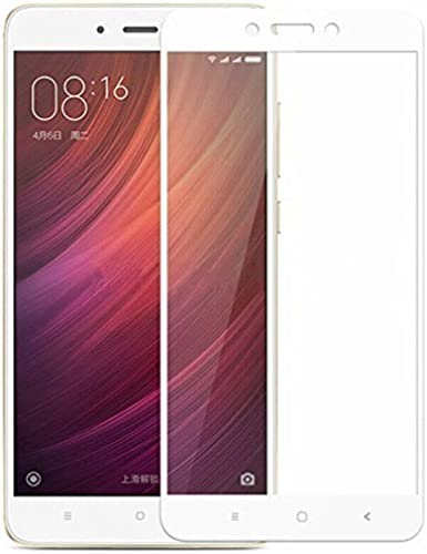 11D White Tempered Glass For Redmi Note 4 Glued Edge To Edge Redmi Note 4 Screen Guard Redmi Note 4 Tempered Glass MI Note 4 Tempered Glass By BK Jain One Tempered Glass