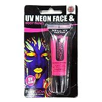 UV NEON UVネオン フェイス&ボディペイント ピンク [10ml uv face & body paints (pink)]