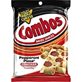 COMBOS Pepperoni Pizza Cracker Baked Snacks 6.3-Ounce Bag (1 pack)