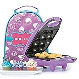 Holstein Housewares Mini Cupcake Maker Kit - Purple