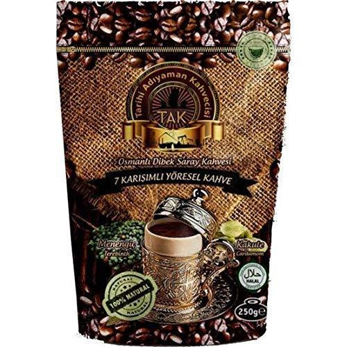 Gemahlener Türkischer Kaffee - Griechischer Kaffee - Dibek Kaffee - Handgefertigt