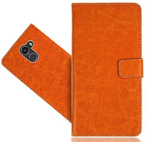 FoneExpert® Wileyfox Swift 2 / Swift 2+ / Swift 2 Plus Handy Tasche, Wallet Hülle Flip Cover Hüllen Etui Hülle Premium Ledertasche Lederhülle Schutzhülle Für Wileyfox Swift 2 / Swift 2+ / Swift 2 Plus