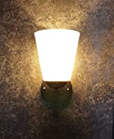 Product Type:- Wall Light Material:-Metal & Acrylic Product Dimension:-Diameter:13Cm, Height:22Cm, Holder & Plug type: E27 Holder; Bulb Recommended: E27 Bulb (Max 40W) Number of Light- 1, Bulb Included- NO