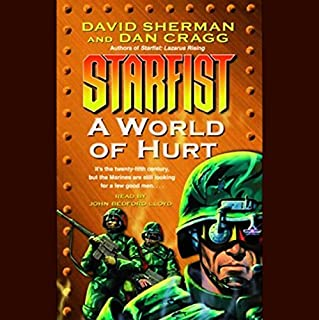Starfist: A World of Hurt audiobook cover art