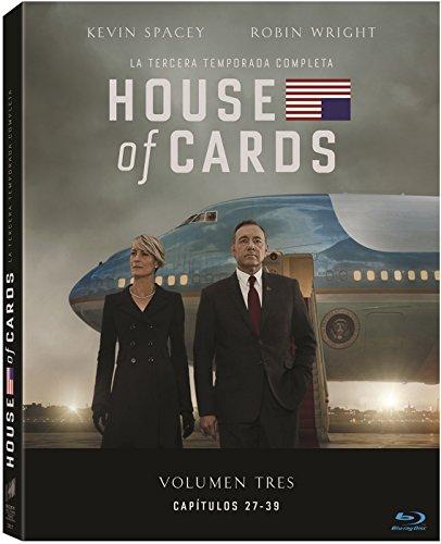 House Of Cards Temporada 3 Blu-Ray [Blu-ray]