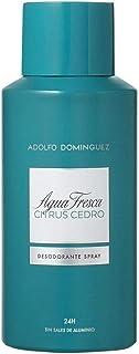 Agua Fresca ADOLFO DOMINGUEZ DESODORANTE CITRUS CEDRO 150ML VAPORIZADOR Unisex adulto Negro Único