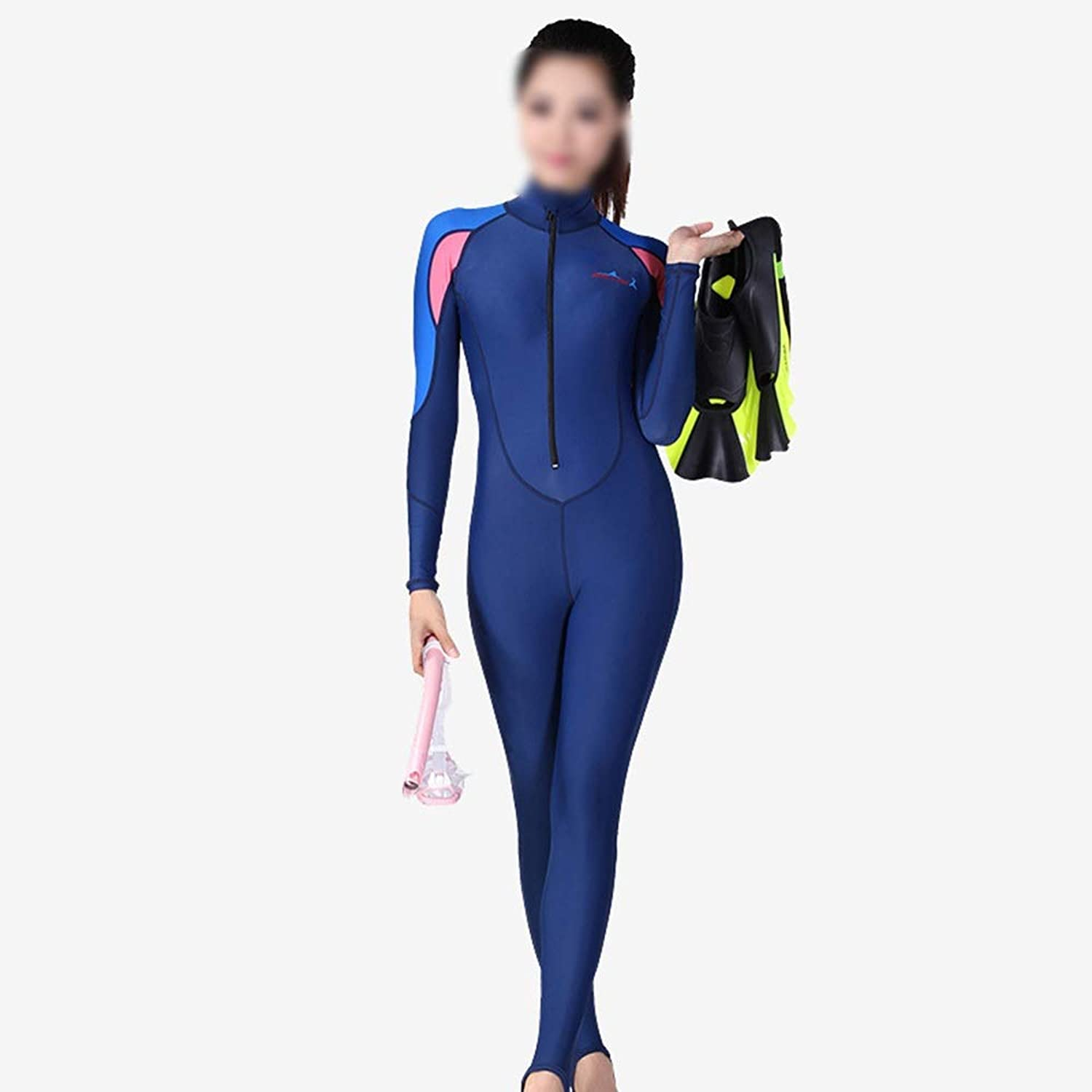 KERVINJESSIE Women's Diving Suit Piece with Chest pad Diving Swimsuit Swimsuit surf Snorkeling Sunscreen Mother Clothes