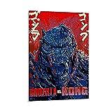 beizi Kong vs Godzilla Poster, dekoratives Gemälde,