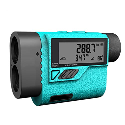 ALRY Telémetro De Golf 1600 Yardas: Telémetro Láser, para Rango De Medición Industrial/Velocidad/Modo De Escaneo, Caza, Navegación, Senderismo