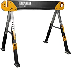 ToughBuilt – Folding Sawhorse/Jobsite Table – Sturdy, Durable, Lightweight,..