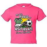 Camiseta niño De tal palo tal astilla Córdoba fútbol - Rosa,...