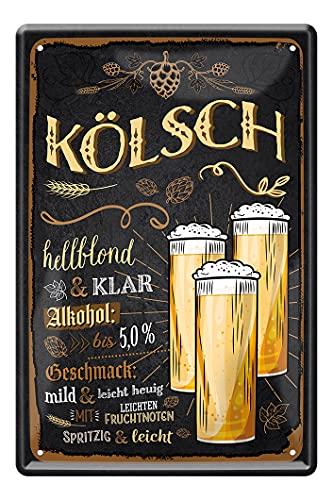 Kölsch Blechschild - Retro Deko...