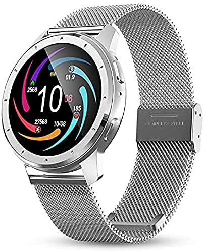 LLM 2021 Smart Watches Intelligent Fitness Tracker Smart Band Bracciale Blood Pressure Frequenza cardiaca Smartwatch per Android iOS(C)