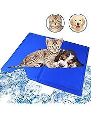 Evance Alfombrilla Refrigeración Animales, Autoenfriamiento Refrigerante Alfombra de Gel, Alfombra de Enfriamiento y Manta para Perros Gatos en Verano, a Prueba de Arañazos/Impermeable