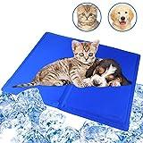 Evance Alfombrilla Refrigeración Animales, Autoenfriamiento Refrigerante Alfombra de Gel, Alfombra de Enfriamiento y Manta para Perros Gatos en Verano, a Prueba de Arañazos/Impermeable (50 * 90CM/ L)