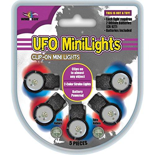 WindNSun UFO Mini Lights - Light Accessory for Kites
