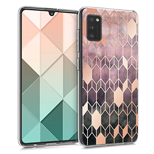 kwmobile Hülle kompatibel mit Samsung Galaxy A41 - Handyhülle - Handy Case Glory Pink Rosegold
