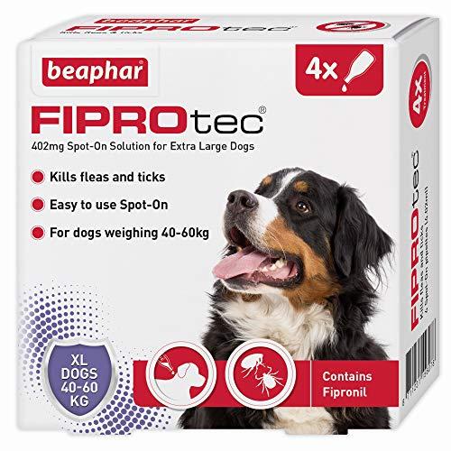 Beaphar Fiprotec Spot-On for X-Large Dog, 4 Pipette