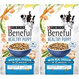 2 Bags of Purina Beneful Healthy Puppy with Real Chicken Dry Dog Food...