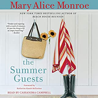The Summer Guests                   By:                                                                                                                                 Mary Alice Monroe                               Narrated by:                                                                                                                                 Cassandra Campbell                      Length: 11 hrs and 27 mins     18 ratings     Overall 4.1