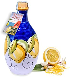 'LEMON' - Hand-painted Jar - Limoncello Sorrento (Made in Italy)