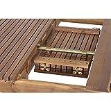 Siena Garden Ausziehtisch Falun Akazienholz geölt in natur Tischplatte - 13