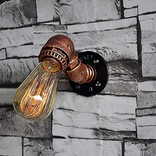 Hancoc lampara Pintado a Mano Caballo de Acero Tubo ático Retro Vintage Industrial Bar cafetería Pasillo Hierro Forjado lámpara de Pared lámpara Artesanal
