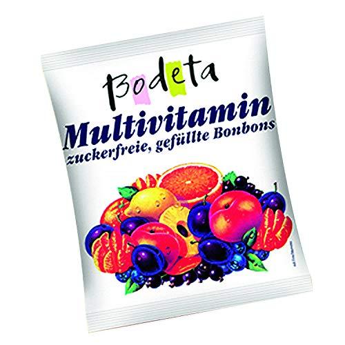 Multivitaminbonbons - zuckerfrei 100g (Bodeta)