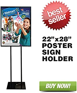 Floor Standing Poster Display Stand Sign Holder 22
