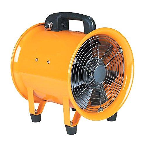 DOCTOR-SAN DS-7025 Axial ventilator 1500 m3/h Ø20 cm metaal, professionele blazer voor het drogen van gebouwen en oppervlakterdroging