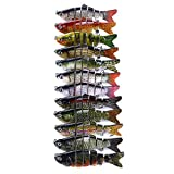 <span class='highlight'><span class='highlight'>Ablita</span></span> Bionic Swimming Lure Fishing Bait 10cm Accessories for All Kinds of Fish 3 Pcs