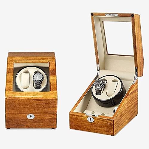 PLMOKN Shaker Solid Wood Mecánica Reloj de Reloj automático Caja de Almacenamiento Tabla de Transferencia Tabla de Moda Hogar Moda Caja de Almacenamiento (Color : A, Size : 25.5 * 22cm)