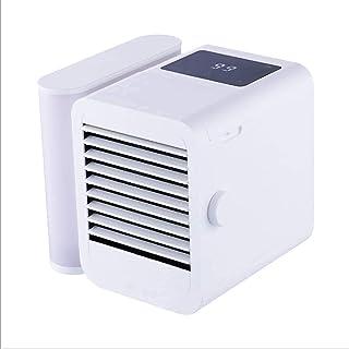 Personlig luftkonditionering Mini, Mini luftkonditionering, 4 i 1 personlig avdunstningskylare, luftfuktare, 3-stegs kylfl...