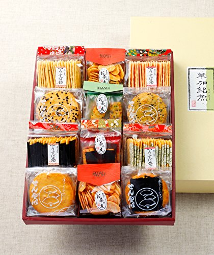 加賀屋米菓『草加銘煎』