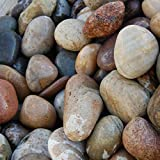 Meadow View Gravel Stone Garden Landscaping Chippings Various Decorative Aggregates Slate (Scottish Cobbles - 50-75mm)