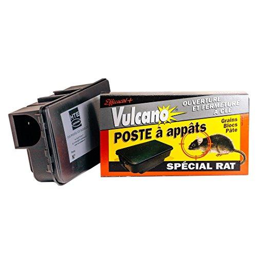 Appât Rat boite Vulcano