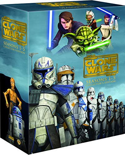 Star Wars The Clone Wars Complete Series 1-5 Collector's