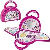 Disney - Maletin maquillaje infantil Bolso Maletin maquillaje Minnie Mouse para niños niñas Juego de maquillaje Minnie para niñas 5 6 7 años Pintauñas Niñas Manicura juguete
