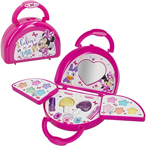 Disney - Maletin maquillaje infantil Bolso Maletin maquillaje Minnie Mouse para niños...
