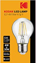 Kodak Globe LED Bulb - Yellow
