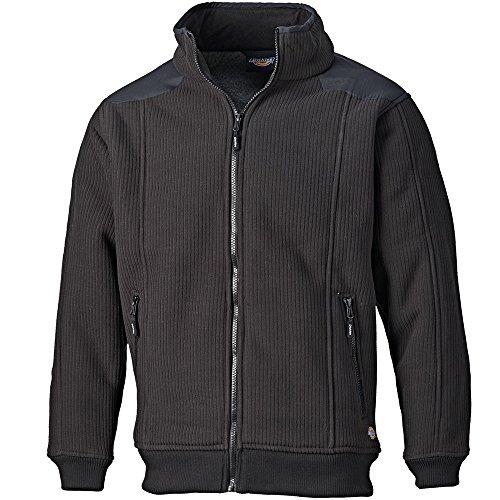 Dickies Fleece-Zipjacke schwarz BK L, EH89001